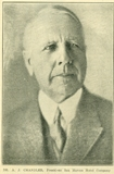 Dr. A.J. Chandler in 1924 Chandler Arizonan article on the expansion of the bungalows at the San Marcos