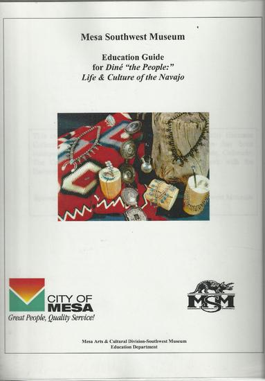 Mesa Southwest Museum, Education Guide for Dine.jpg