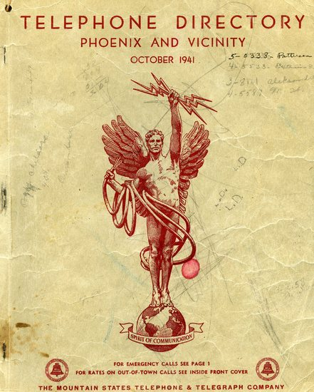 Telephone Directory Phoenix and Vicinity, 1941.jpg