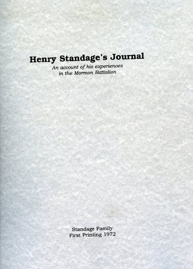 Henry Standage's Journal An Account of His Experiences in the Mormon Battalion.jpg