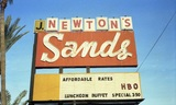 Reed Perkins negatives--Tempe or Phoenix signs-Newton's Sands hotel958 -Perkins.790.jpg